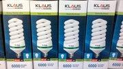 Энергосберегающие лампы Klaus в Алматы. Оптом!Дешево!