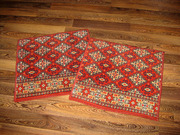 Небольшой коврик 60 х 60см,  шерсть,  целый,  чистый.